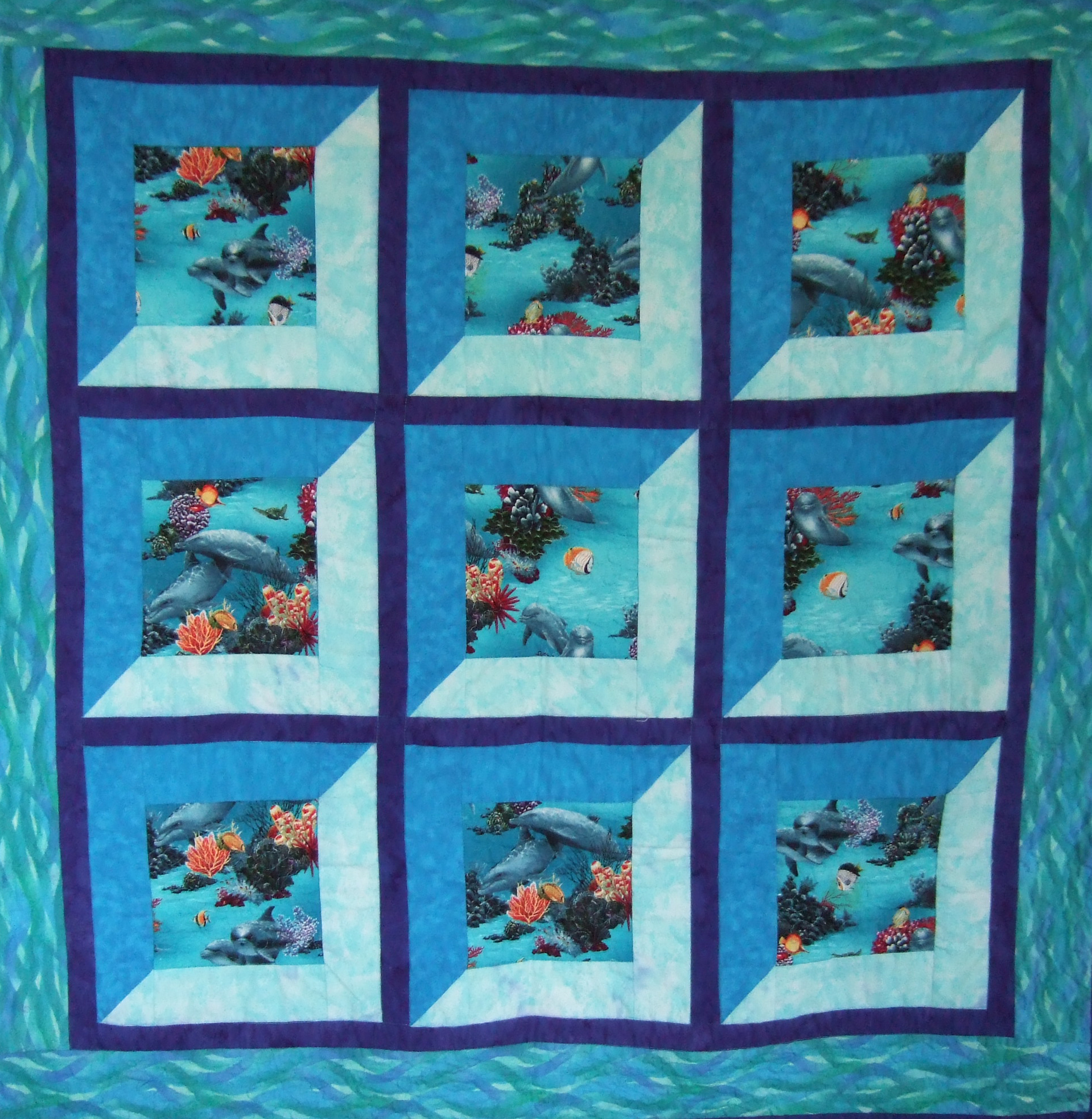 Catherine s quilts catherine wynne quilts for Window pane quilt design